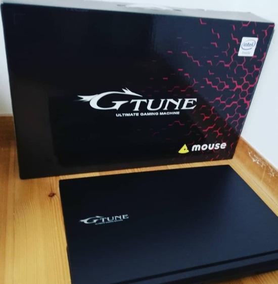 G-tuneノートPC